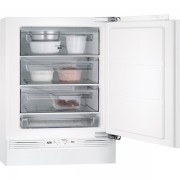 Congelator Aeg ABB68211AF, incorporabil, A+, 3 sertare, 95 litri, mecanic, alb