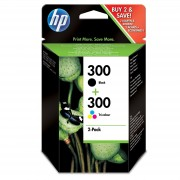MULTIPACK 2 CARTUCHOS HP - 1 x Nº300 NEGRO + 1 x Nº300 COLOR