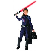 Rubie's Girls Star Wars Classic Darth Vader Costume, Medium