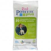 Set 20 pungi unica folosinta pentru olita portabila Potette Plus