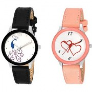 New Fashion Lifestyle Queen Analog Watch Sett Of Two For Girls and Women 049 Watch
