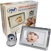 Baby Audio Monitor PNI Wireless B7000 cu ecran de 7 inch