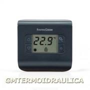 Termostato Ambiente Digitale Elettronico A Batteria Fantini Cosmi Modello Ch112 Con Display Regolatore Temperatura Comando Caldaia Riscaldamento E Condizionamento Colore Antracite