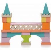 Jucarie din lemn Cubika Set constructii Podul de piatra