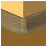 PBE605.159-S4 - Set 4 bucati piese colt exterior culoare stejar vechi pentru plinta PBC605