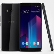 "Smartphone, HTC U11+, 6.0"", Arm Octa (2.5G), 6GB RAM, 128GB Storage, Android 8.0, Ceramic Black (99HANE051-00)"