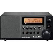 DDR-31 DAB+ Asztali rádió DAB+ FM-RDS 2 soros LCD kijelző