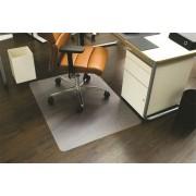 Székalátét, kemény felületre, E forma, 120x150 cm, RS OFFICE Ecoblue (BREPE150)