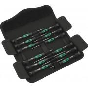 Wera Elektronik- u. Feinmechanik Schraubendreher-Set 12-teilig, Kraftform Micro 12 Universal 1
