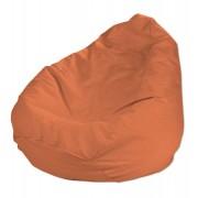 Dekoria Pokrowiec na worek do siedzenia, pomarańcz, pokrowiec Ø60 × 105 cm, Jupiter