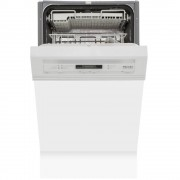 Miele G4722SCi Brilliant White Built In Semi Int. Slimline Dishwasher