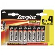 Energizer 12-pack AA batterier 1,5V