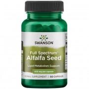 Swanson Vojtěška (Alfalfa) 400 mg 60 kapslí