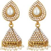 Jewels Gold Alloy Party Wear Wedding Latest Fancy Jhumki Earring Set For Women Girls
