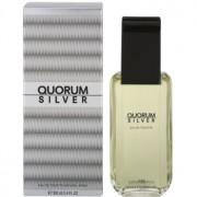 Antonio Puig Quorum Silver Eau de Toilette para homens 100 ml