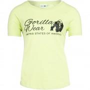 Gorilla Wear Lodi T-shirt - Light Yellow - L