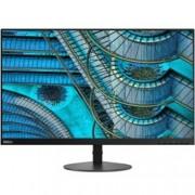 """Монитор Lenovo ThinkVision S27i-10 (61C7KAT1EU), 27"""" (68.58 cm) IPS панел, Full HD, 6ms, 250cd/m2, HDMI, VGA"""