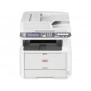 OKI MB472dnw Multifunctionele laserprinter (zwart/wit) A4 Printen, scannen, kopiëren, faxen LAN, WiFi, Duplex, ADF
