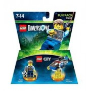 Set Figurine Lego Dimensions Fun Pack Lego City