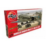 Airfix Douglas Dakota Mkiii Willys Jeep