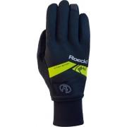 Roeckl Villach Fietshandschoenen -Maat 8.5 - Black Yellow/ Zwart geel