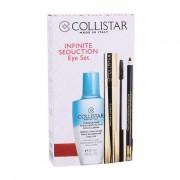 Collistar Infinito tonalità Extra Black confezione regalo mascara 11 ml + matita occhi con sfumino 1,2 g Black + struccante bifasico Gentle Two Phase 50 ml donna