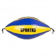 Sportko Boxovací Pytel Sportko Gp2 Žluto-Modrá