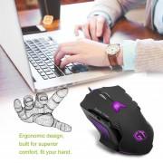 EY Delux M812LU Gaming Mouse GamEY USB Con Cable Ergonómico Diseño Portátil PC Ratones-Genérico