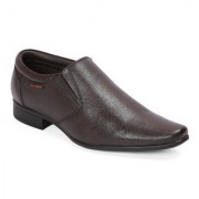 Red Chief Brown Low Ankle Leather Slip On Shoe (RC3538 003)