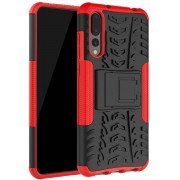Schokbestendige Back Cover - Huawei P20 Pro - Rood
