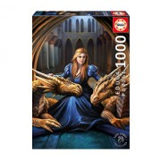 Puzzle Fierce Loyalty, Anne Stokes, 1000 piese