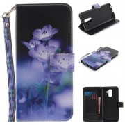 Samsung Galaxy A6+ (2018) Wonder Series Wallet Case - Flowers