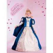 Costume Queen Elizabeth tg. 7/8 anni