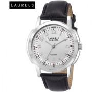 Laurels Veteran Silver Dial Men'S Watch - Lo-Vet-103