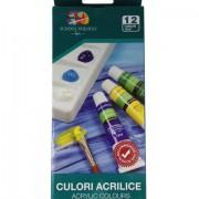 Tempera 12 culori/set, culori acrilice, PIGNA