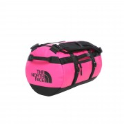The North Face BASE CAMP DUFFEL - XS Unisex - Reisetasche - Gr. OS - pink-rosa / MR. PINK TNF BLACK