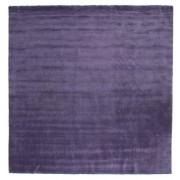 RugVista Tapis Handloom fringes - Violet 300x300 Tapis Moderne, Carré