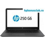 "Laptop HP 250 G6 (Procesor Intel® Core™ i3-6006U (3M Cache, up to 3.10 GHz), Kaby Lake, 15.6"" FHD, 4GB, 500GB HDD, AMD Radeon 520 @2GB, Wireless AC, Argintiu-Cenusiu)"