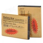 Reemplazo de 3.7V 2000mAh Bateria recargable Li-ion para Samsung GALAXY ACE / S5830 - Golden (2 PCS)