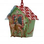 Karácsonyi Üdvözlőlap - Reindeer Stable