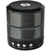 Fleejost WS887 Bluetooth Stereo Speaker with Calling/FM Support/Aux / USB/SD Card Support (Black)