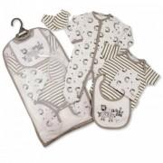 Set cadou hainute bebelusi 5 piese model zebra