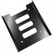 EH De 2,5 Pulgadas A 3,5 Pulgadas SSD HDD Adaptador De Rack Hard Drive SSD Soporte De Montaje - Negro