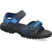 REEBOK Men GRAVEL/BLUE SPORT/BLK Sports Sandals
