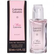 Gabriela Sabatini Miss Gabriela Night eau de toilette para mujer 30 ml