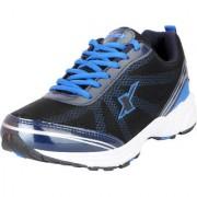 Sparx Men's Black Blue Mesh Sports Running Shoes