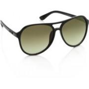 Farenheit Over-sized Sunglasses(Green)