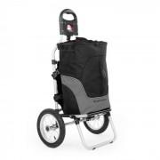 Carry Grey Rimorchio Per Bicicletta A Mano Carico Max. 20kg Nero/Grigio