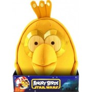 Angry Birds Star Wars Bird C3PO 8 Inch Plush with Sound