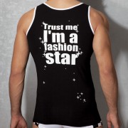Doreanse Fashion Star Tank Top T Shirt 2008